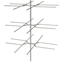 Hatco FSDT3TPT 3-Tier Pretzel Tree Display Rack for FSDT Holding and Display Cabinets