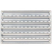 Matfer 311121 6 Loaf Aluminum French Baguette Bread Pan