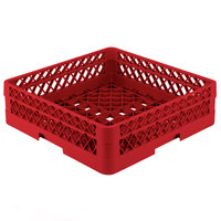 Vollrath TR1A Traex Full-Size Red 5 1/2 inch Open Rack with 1 Extender