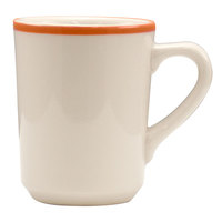 Homer Laughlin 1308083 Toulon 8.25 oz. Rolled Edge Denver Mug - 36 / Case