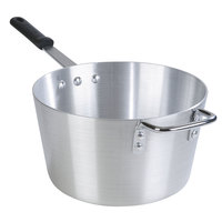 Carlisle 61708 8.5 Qt. Tapered Aluminum Sauce Pan with Removable Dura-Kool Sleeve