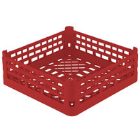 Vollrath 52683 Signature Full-Size Red 9 9/16 inch XX-Tall Open Rack