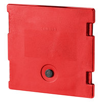 Cambro 6318158 Hot Red Camcarrier Replacement Door with Gasket and Vent Cap