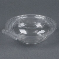 Par-Pak 5HGR008-TV Clear Tamper-Visible 8 oz. Round Container - 80 / Pack