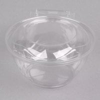Polar Pak 5HGR016-TV Clear Tamper-Visible 16 oz. Round Bowl with Lid - 70/Pack
