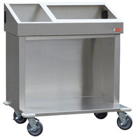 Steril-Sil E1-CRT36-1V1HP Stainless Steel 3 Pan, 1 E1 Insert Dispensing Cart