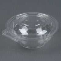 Par-Pak 5HGR012-TV Clear Tamper-Visible 12 oz. Round Container - 75/ Pack