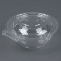 Par-Pak 5HGR012-TV Clear Tamper-Visible 12 oz. Round Container - 75/Pack
