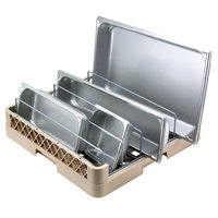 Vollrath TR22 Traex Full-Size Beige Open End Steam Table Pan Rack