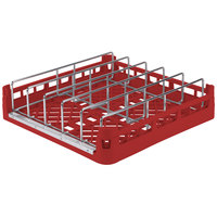 Vollrath 52669 Signature Full-Size Red Open End Steam Table Pan Rack