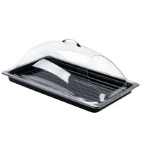 Sample and Display Tray Kit with Black Polycarbonate Tray and End Cut Cover