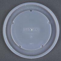 Dinex DX11838714 Classic Translucent Disposable Lid for Dinex DX1187 Classic 8 oz. Bowl - 1000/Case