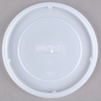 Dinex DX11858714 Translucent Disposable Lid for Dinex DX1185 Classic 9 oz. Insulated, Stackable Bowl and DX4500 Heritage 12 oz. Insulated, Stackable Bowl - 1000/Case