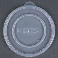 Dinex DXTT39 Translucent Disposable Lid for Dinex DX4B Tradition 8 oz. Insulated, Soup Bowl - 1000 / Case