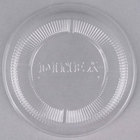 Dinex DX11830174 Classic Clear-View Disposable Dome Lid for Dinex DX3300 Turnbury 9 oz. Insulated Pedestal Based Bowl and DX1187 Classic 8 oz. Bowl - 1000/Case