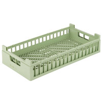 Vollrath 52804 Signature Half-Size Light Green Flatware Rack