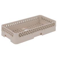 Vollrath HR1AAAA Traex Half-Size Beige 9 1/16 inch Open Rack with 4 Extenders