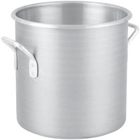 Vollrath 430712 Wear-Ever 30 Qt. Classic Aluminum Rolled Edge Stock Pot