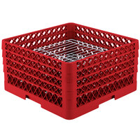 Vollrath PM3208-2 Traex Red 32 Compartment Plate Rack