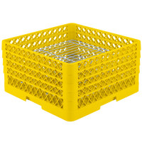 Vollrath PM3208-2 Traex Yellow 32 Compartment Plate Rack