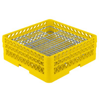 Vollrath PM4806-2 Traex Yellow 48 Compartment Plate Rack - 5 inch-6 inch
