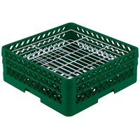 Vollrath PM3807-2 Traex Green 38 Compartment Plate Rack - 5 inch-6 1/8 inch