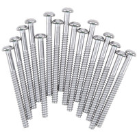Vollrath 5235800 Screw Set for Medium Glass Racks - 16/Pack