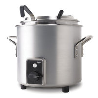 Vollrath 7217210 Natural Finish Retro 11 qt. Stock Pot Kettle Rethermalizer - 120V, 1450W