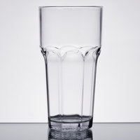 Carlisle 581607 Louis 16 oz. Clear Plastic Tumbler - 24/Case