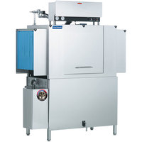 Jackson AJX-54 Single Tank Low Temperature Conveyor Dish Machine - Right to Left, 208V, 3 Phase