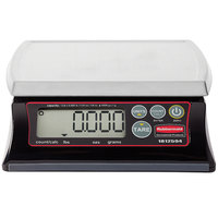 Rubbermaid 1812594 Pelouze 12 lb. Premium Resin Digital Portion Control Scale - Dishwasher Safe