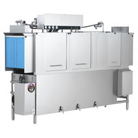 Jackson AJ-100 Dual Tank High Temperature Conveyor Dishmachine - Left to Right