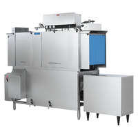 Jackson AJ-66 Single Tank Low Temperature Conveyor Dishmachine - Left to Right