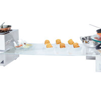 Eastern Tabletop 05247G 24 inch x 7 inch Rectangular Tempered Glass Buffet Shelf