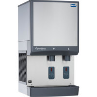Follett 25CI425W-S Symphony Countertop Water Cooled Ice Maker and Water Dispenser - 25 lb.