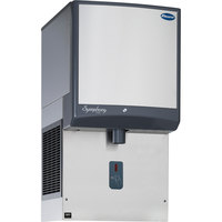 Follett 50HI425A-SI-00 50 Series Air Cooled Wall Mount Ice Dispenser with Drain Pan - 50 lb. Storage