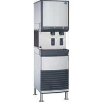 Follett 25FB425A-S 25 Series Air Cooled Freestanding Ice and Water Dispenser - 25 lb. Storage