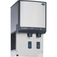 Follett 25HI425A-S0-00 25 Series Air Cooled Wall Mount Ice and Water Dispenser - 25 lb. Storage