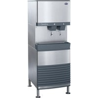 Follett 110FB425A-L 110 FB Series Freestanding Air Cooled Ice Maker and Water Dispenser - 90 lb. Storage