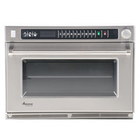 Amana AMSO35 Heavy-Duty Commercial Steamer Microwave Oven - 208/240V, 3500W