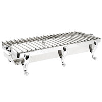 Eastern Tabletop 3258G Park Avenue 41 1/2 inch Stainless Steel Grill Stand with Removable Grill Top