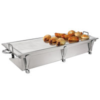 Eastern Tabletop 3269A Heavy Duty 38 inch x 13 inch Stainless Steel Grill Stand with Removable Griddle Top