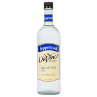 DaVinci Gourmet 750 mL Peppermint Sugar Free Coffee Flavoring Syrup