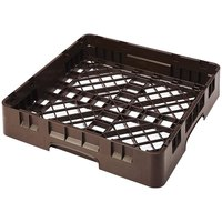 Cambro BR258167 Brown Camrack Full Size Open Base Rack