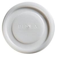 Dinex DX11988714 Translucent Disposable Lid for Carlisle 5506 Stackable 9.5 oz. Tumbler, Carlisle 5512 Pebble Optic 12 oz. Tumbler, and Cambro 950CP Tumblers - 1000 / Case