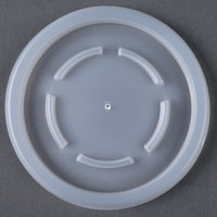 Dinex DX22259000 Translucent Disposable Lid for 8 - 2000/Case