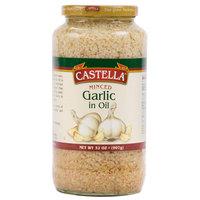 Castella 32 oz. Minced Garlic in Oil - 12/Case