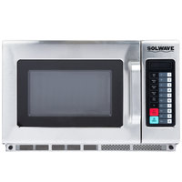 Solwave MW2100T 2100W Stackable Commercial Microwave with Push Button Controls - 208/240V