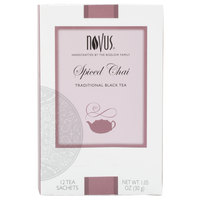 Novus Spiced Chai Tea - 12 / Box