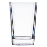 GET SW-1435-CL 3 oz. Clear Plastic Square Tasting / Shot Glass - 24 / Case